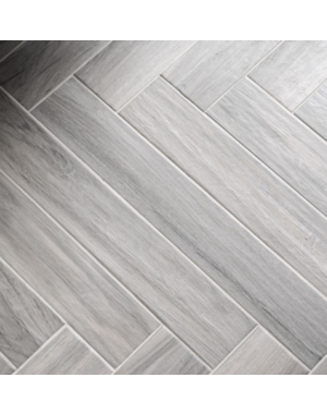 Luxury Tiles Regatta Grey Wood Effect Porcelain Tile