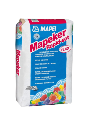 Mapei Mapei Grey Rapid-Set Flex Tile Adhesive