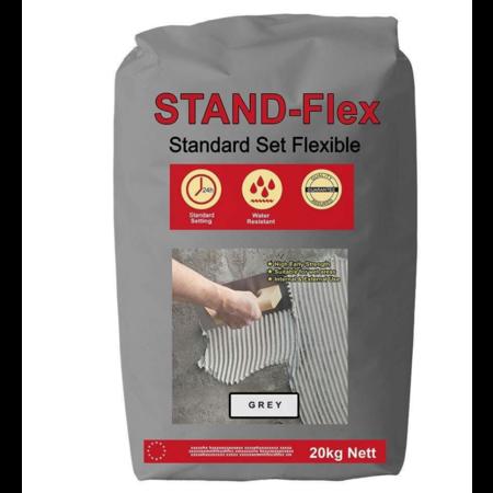 Luxury Tiles Grey Standard Flex Tile Adhesive 20KG
