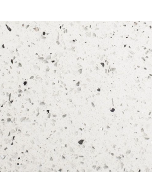 Luxury Tiles Sparkling Shimmer Blanco White Quartz Tile