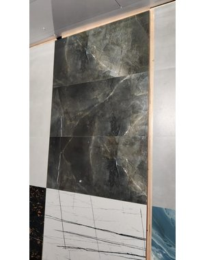 Luxury Tiles Galaxy Grey Marble Effect 60x30cm Floor and Wall Tile