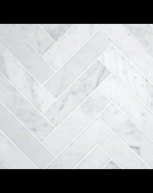 Luxury Tiles Marble Herringbone 10x30cm Floor and Wall Tile