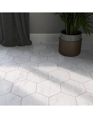 Luxury Tiles Marble Hexagon 15cm Floor and Wall Tile