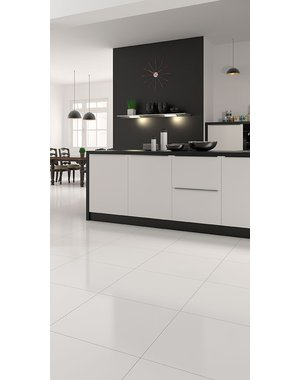 Luxury Tiles Diamond white polished floor tile 600x600mm