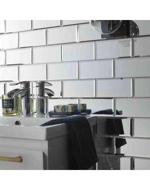 Luxury Tiles Mirror Metro 75x150mm Mosaic Tile