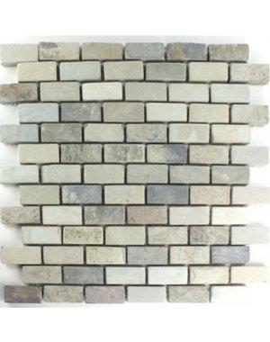 Natural Stone Brick Mosaic Tile