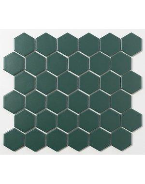 Luxury Tiles Racing Green Hexagon Mosaic Tile