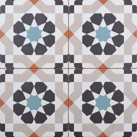 Larache Moroccan Floor & Wall Tiles 45x45cm