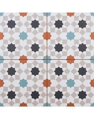 Luxury Tiles Marrakesh Pattern Wall and Floor Tile 45x45cm