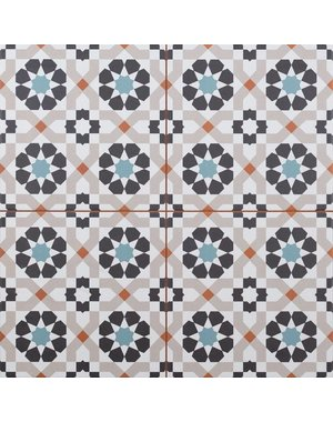 Luxury Tiles Morocco Pattern Wall and Floor Tile 45x45cm