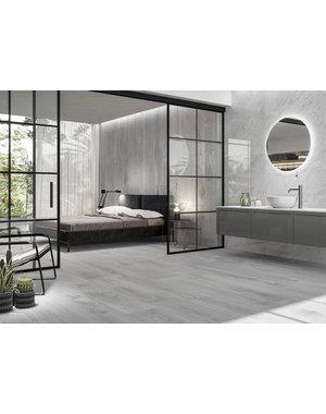 Luxury Tiles Chelsea Ice Grey Wood Effect 120x20cm Tile