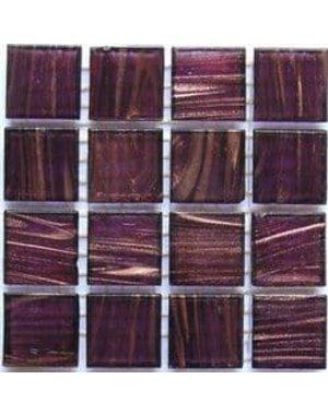 Luxury Tiles Deep Brown Waved Mosaic Tile