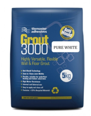 Pure White Tile Master Tile Grout 3000