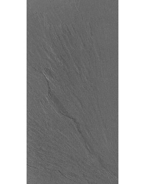 Luxury Tiles Deep Black Riven Slate Wall and Floor Tile