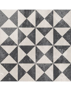 Luxury Tiles Traditional Victorian Black and White Tile