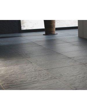 Luxury Tiles Elite Black Riven Slate Effect Tile