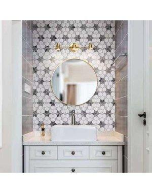 Luxury Tiles Flower Hexagon Marble Mosaic Tile