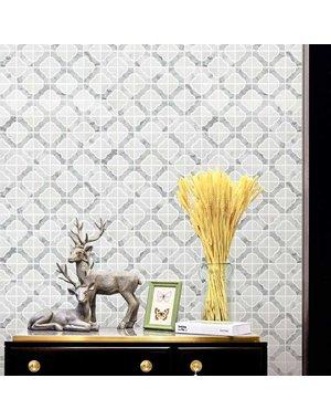 Luxury Tiles Aurora White Marble Stone Tile