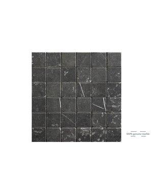 Luxury Tiles Taurus Nero mosaic marble  Wall and Floor Tile 30x30cm