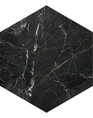 Luxury Tiles Ilaria Black Marble Hexagon Tile