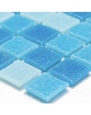 Luxury Tiles Atlantic Swimming Pool Blue Mosaic Tile