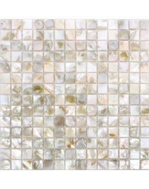 Luxury Tiles Viktor Mosaic Glossy Light Beige Tile