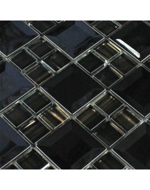 Luxury Tiles Clara Stainless Steel Mosaic Metal Tile
