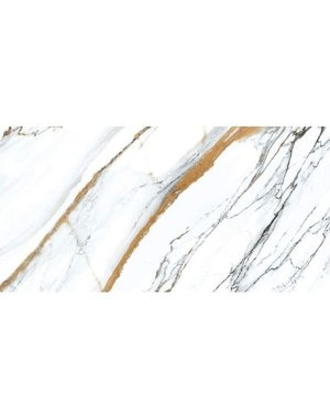 Luxury Tiles Adele Gold and Grey Extra Large Square Tile