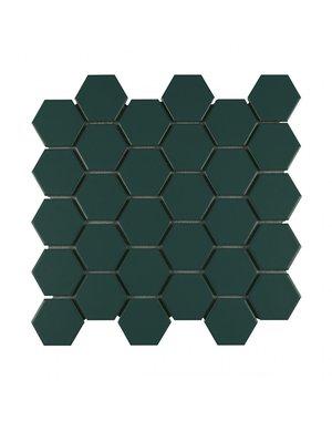 Luxury Tiles Hexagon Green Honey Mosaic Tile 27.2x28.2cm