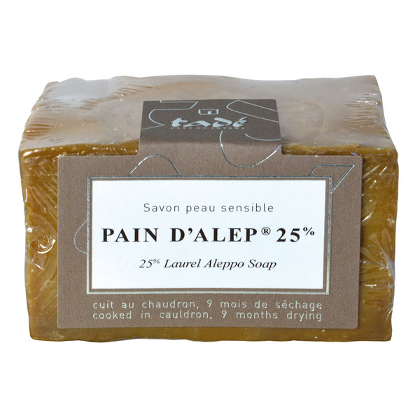 Aleppo zeep - Pain d'Alep 25% laurier 200gr