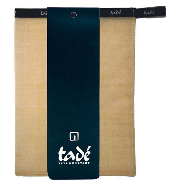 Natural 100% silk glove Mitt