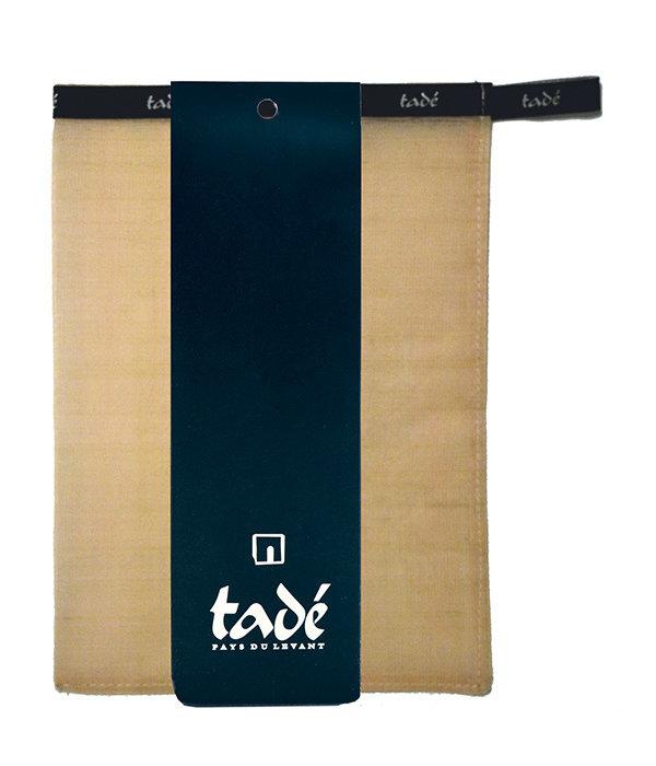 Tadé Natural 100% silk glove Mitt