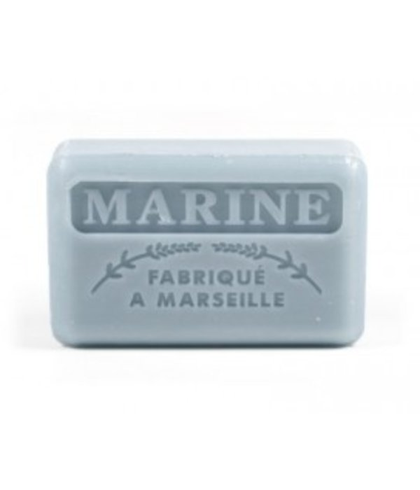 La Savonnette Marseillaise Marseille soap - Navy
