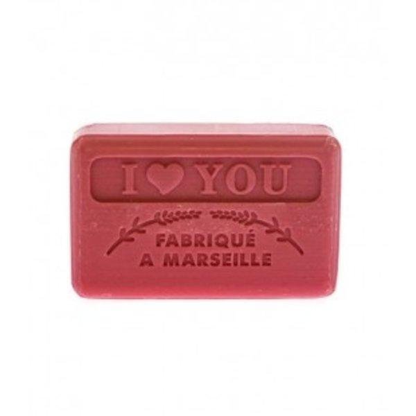 Marseille soap I Love You