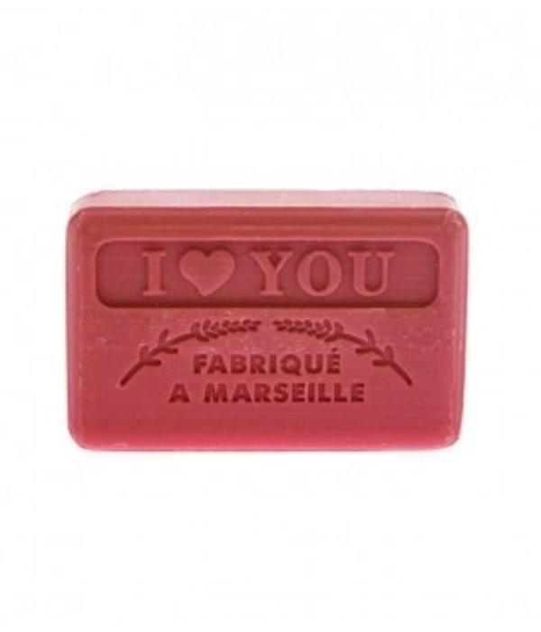 La Savonnette Marseillaise Marseille soap - I Love You