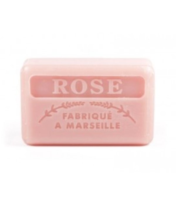 La Savonnette Marseillaise Marseille soap - Rose petals