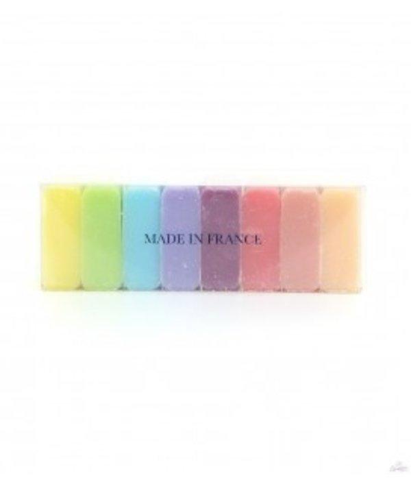 Marseille zeep box met 8 gasten zeepjes van 30gr