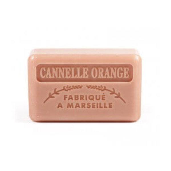 Marseille soap Cinnamon orange
