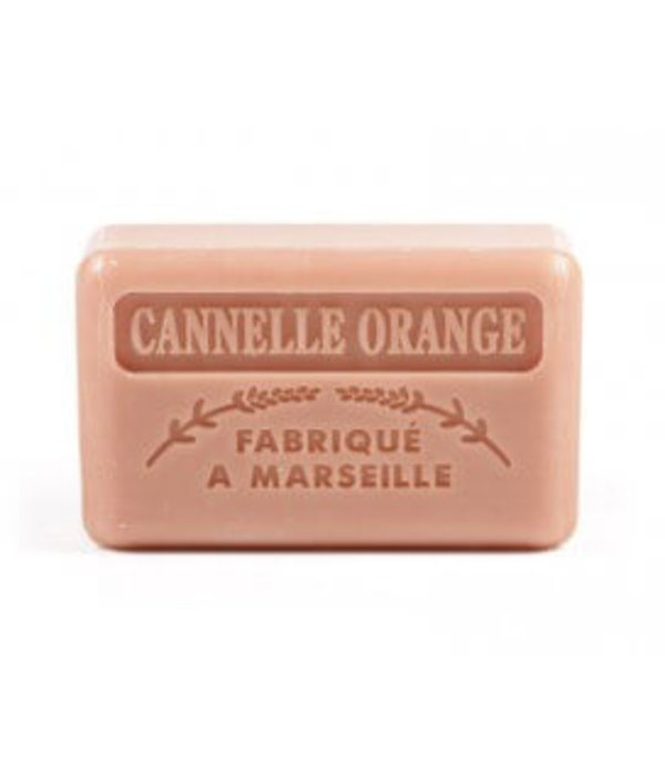 La Savonnette Marseillaise Marseille soap - Cinnamon orange