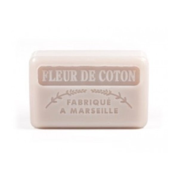 Marseille soap - Cotton flower