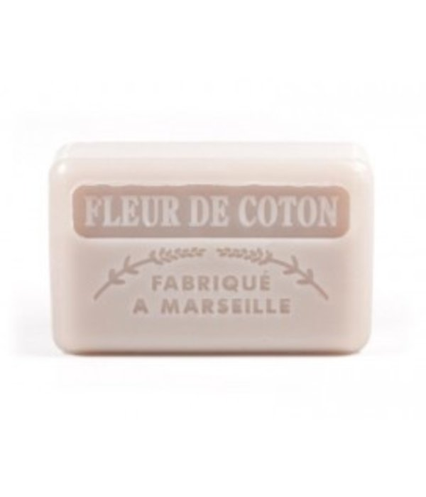 La Savonnette Marseillaise Marseille soap - Cotton flower