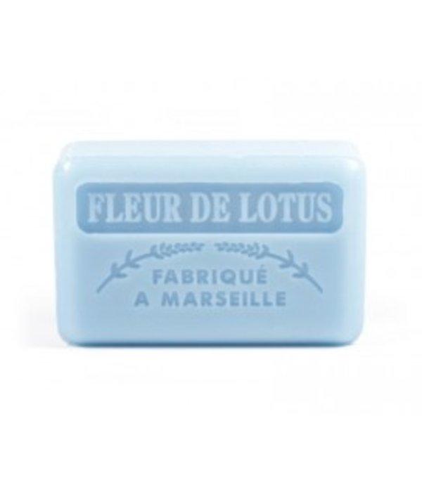 La Savonnette Marseillaise Marseille soap - Lotus flower