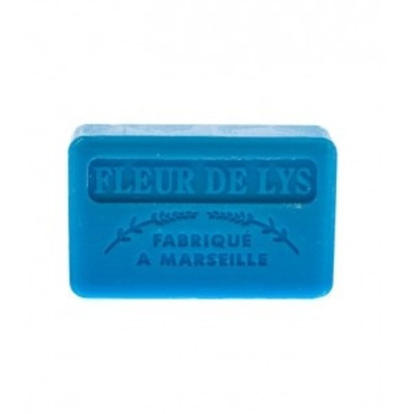 Marseille soap -  Lily flower