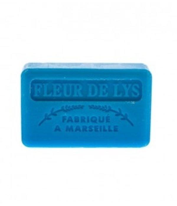 La Savonnette Marseillaise Marseille soap -  Lily flower
