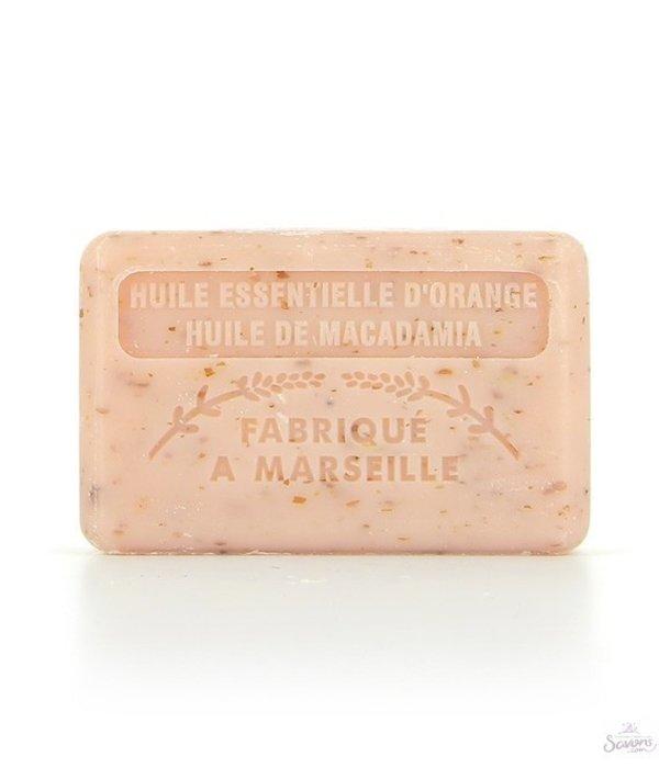 """La Savonnette Marseillaise """"Tandem"""" scrub zeep met sinaasappel en macadamia olie"""