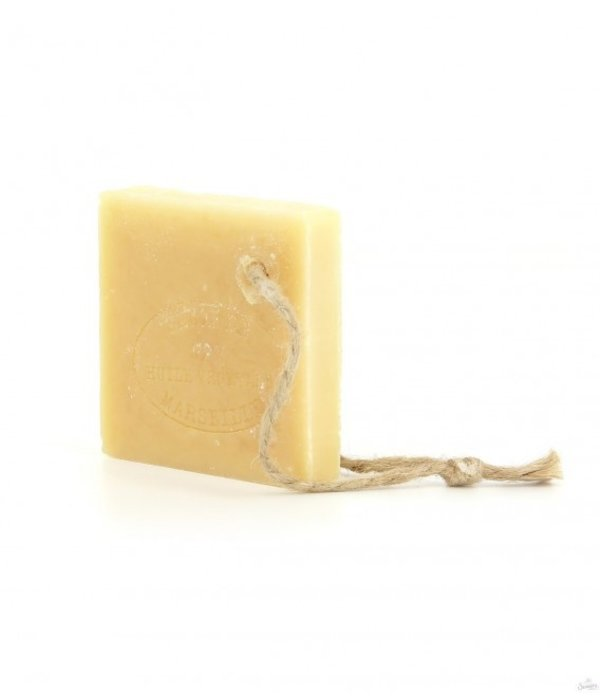 "La Savonnette Marseillaise  Soap slice rectangle  150 grams of "" authentic"" Marseille soap"