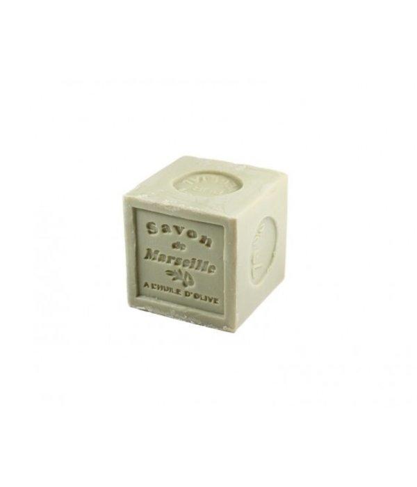 Blokvorm Savon Marseille bevat 72 % olijfolie 300 gram