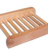 AW Bathroom and Soap Accessories Hemu hout zeepbakje - Ladder