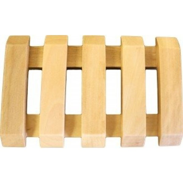 Hemu Wood Soap Dishes - Slotted