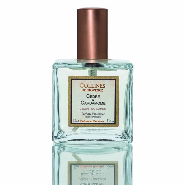 Collines de Provence - Huisparfum/interieurspray Cèdre & Cardamome